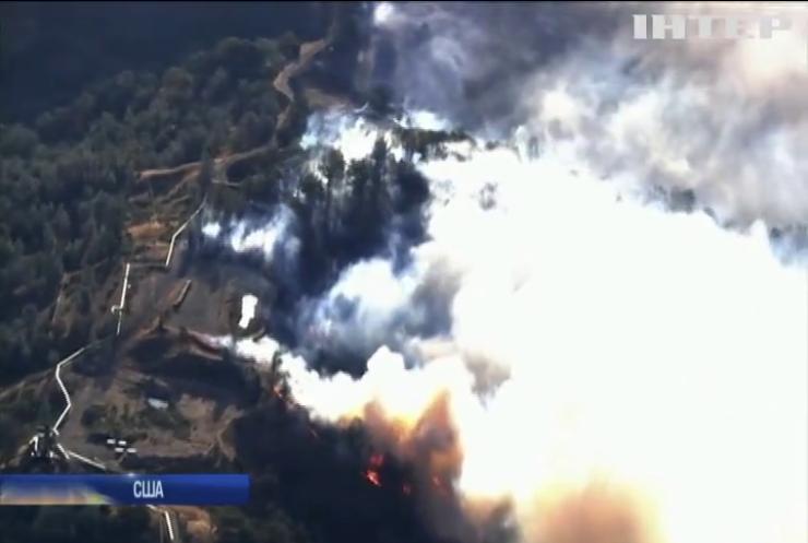 Каліфорнію охопила масштабна пожежа