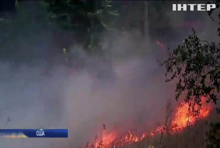 У Каліфорнії не можуть приборкати масштабні лісові пожежі