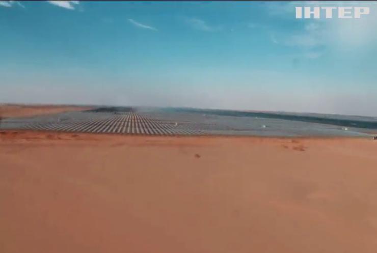 У пустелі Сахара запрацювала найбільша у світі сонячна електростанція