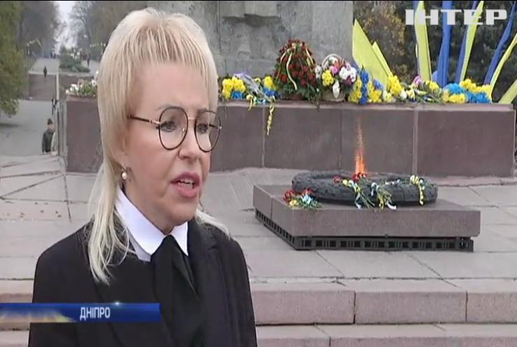 Міста України відзначили 75 річницю звільнення від фашистських загарбників