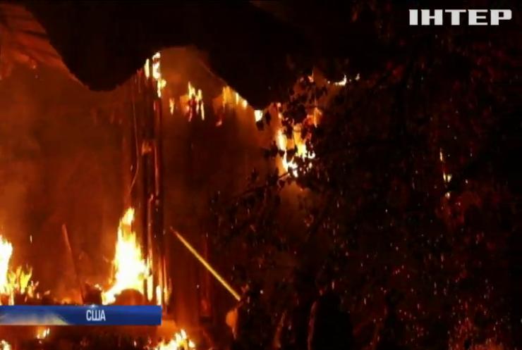 Каліфорнію розжарює лісовими пожежами