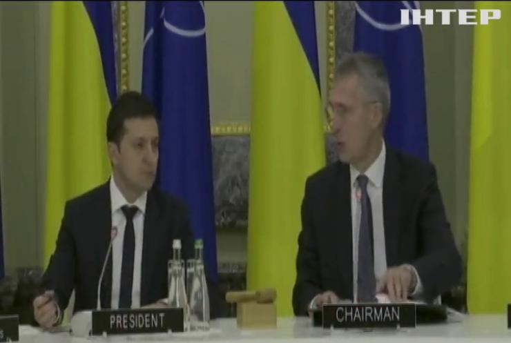 Єнс Столтенберг засудив російську агресію проти України