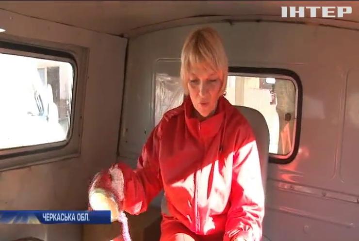 Екстрена медична допомога: на Черкащині бракує фельдшерів, водіїв та самих автомобілів