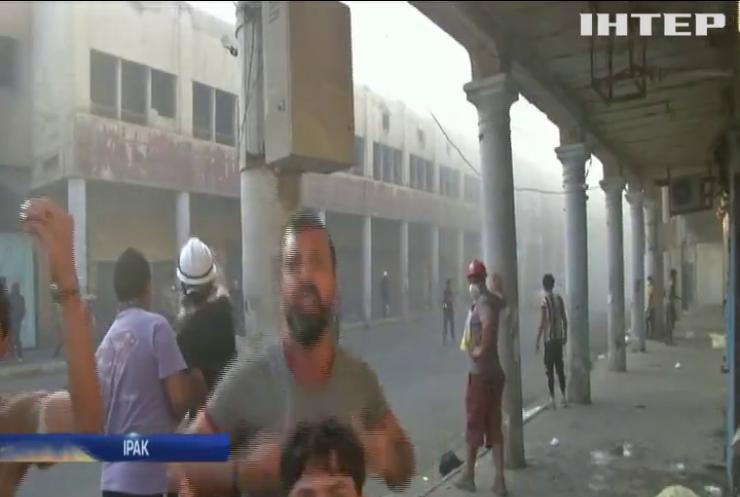 Поліція відкрила вогонь по протестувальникам у Іраку
