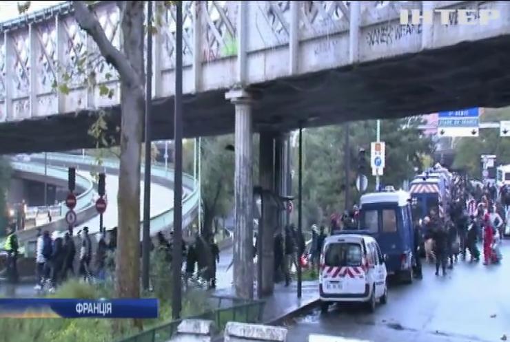 Французька поліція евакуювала табір з мігрантами
