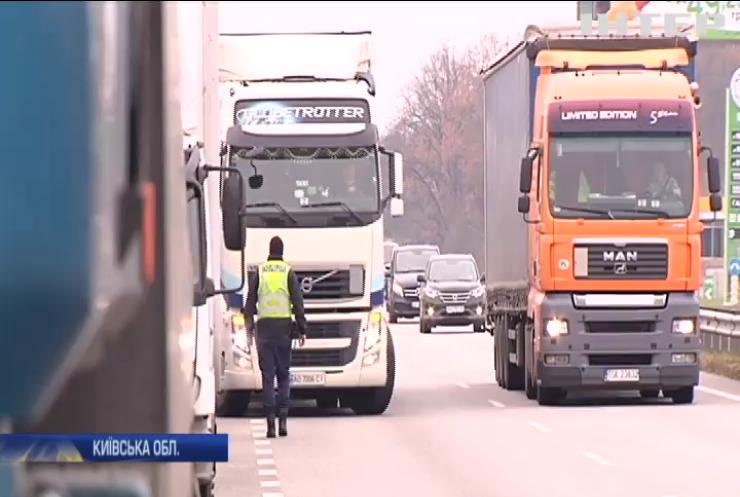 Нові правила: Київ частково закрили для проїзду вантажівок