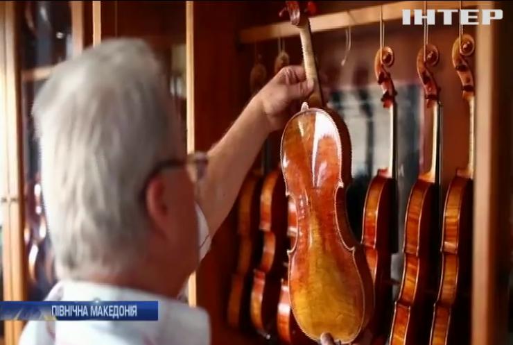 Житель Македонії розкрив секрет виготовлення унікальних скрипок