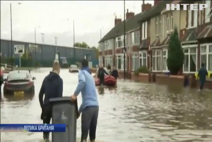 Британський потоп: Північна Англія йде під воду