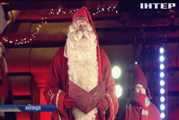 Санта-Клаус відкрив різдвяний сезон