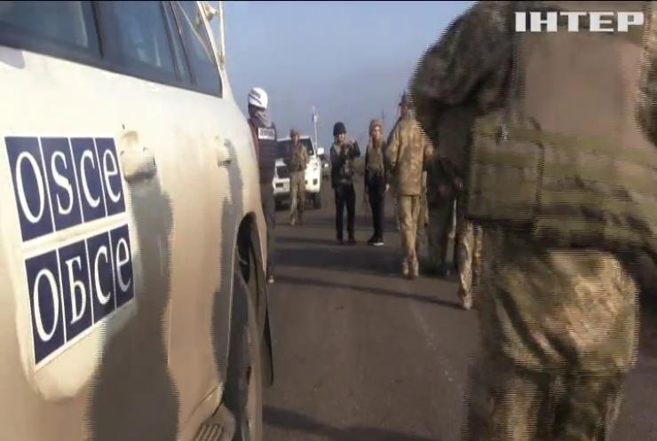 ОБСЄ зафіксували постріли на ділянці розведення сил