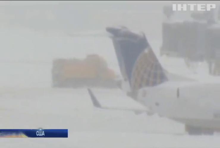 Снігопад у США вдарив по Чикаго