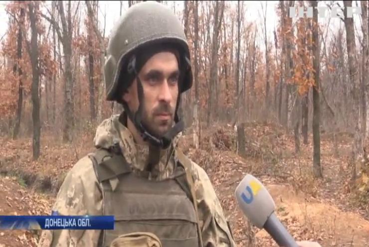 На Донбасі продовжується окопна війна