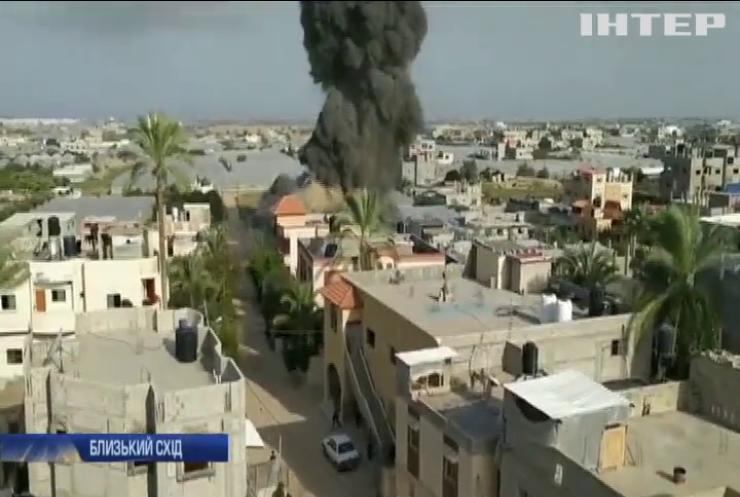 Ізраїль відповів бойовикам на ракетні обстріли