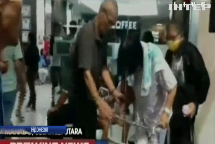 Потужний землетрус налякав жителів Індонезії