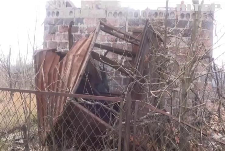 Біля Кам'янки снаряд знищив двоповерховий будинок