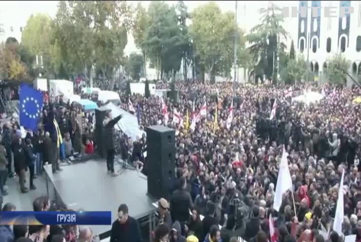 У Тбілісі 20 тисяч людей вийшли на антиурядові протести