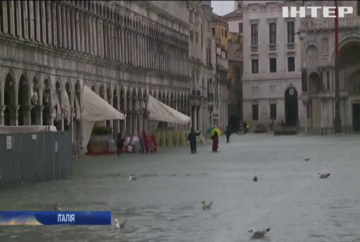 Венеція пережила новий пік повені