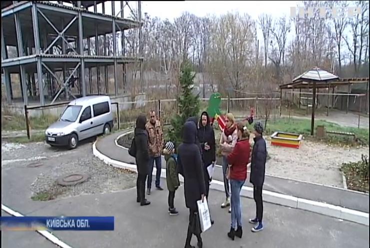 На Київщині родини ветеранів воюють за світло