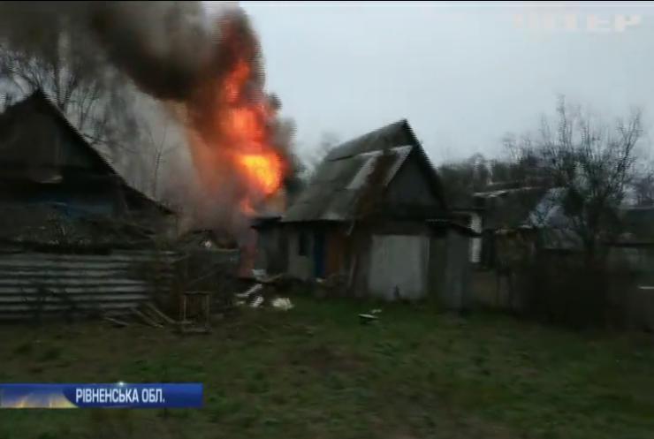 Селянин з Рівненщини став пожежником із власним авто