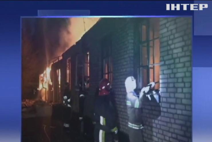 Пожежа в гарнізоні на Львівщині: експерти встановлюють причину займання