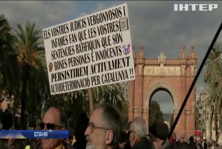 Судовий процес на лідером уряду Каталонії сколихнув суспільство Іспанії