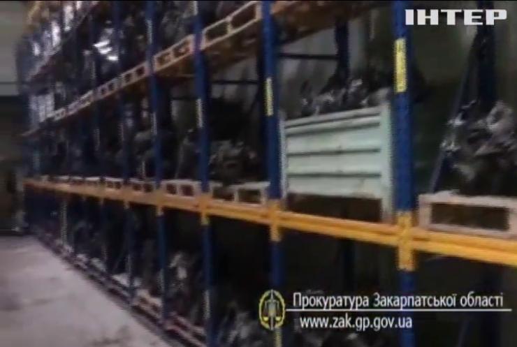 В Ужгороді викрили контрабандну мережу постачання автозапчастин