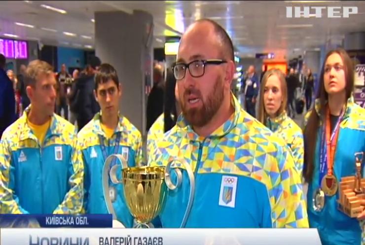 Українська збірна з мас-рестлінгу повернулася з чемпіонату світу