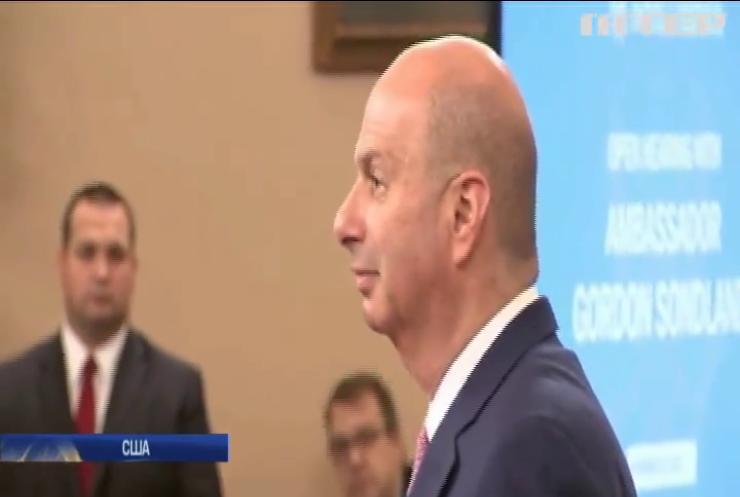 Український скандал у США: посол в Євросоюзі дав свідчення