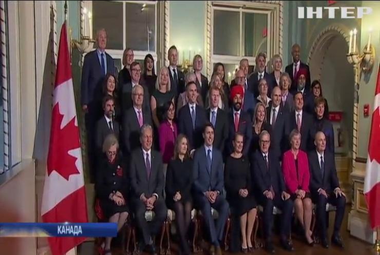 Прем'єр-міністр Канади представив новий уряд країни