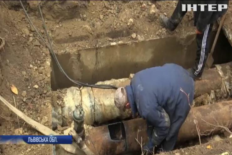 На Львівщині ліквідовують наслідки зриву опалювального сезону