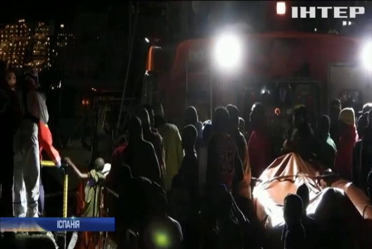 Біля Канарських островів з води врятували 79 мігрантів