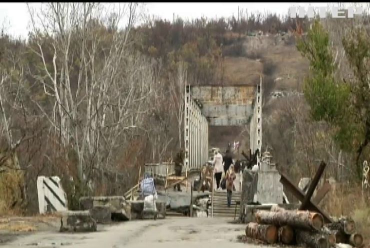 У Станиці Луганській відкрили довгоочікуваний міст