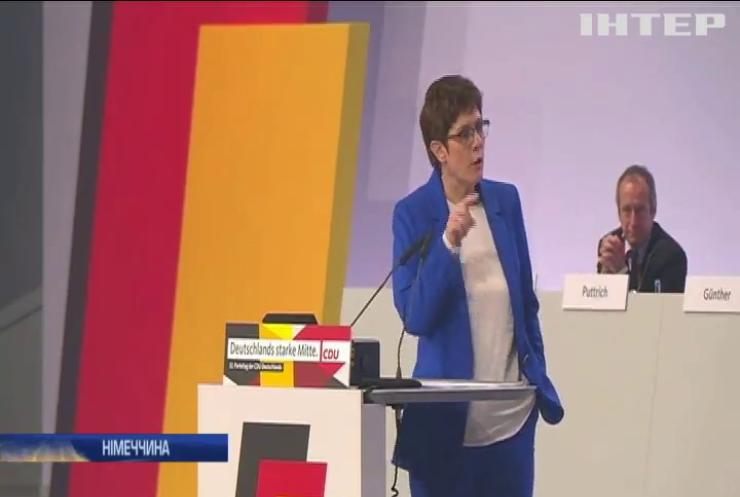 Міністр оборони Німеччини вразила суспільство зворушливою промовою