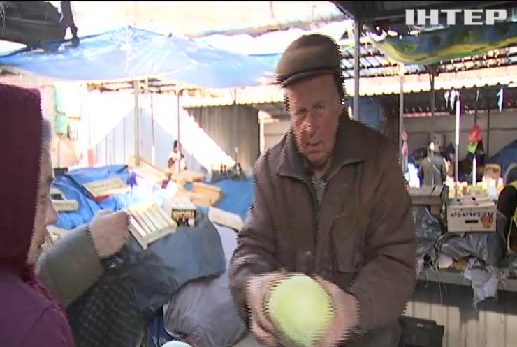 """В Україні вперше за 4 роки подешевшали овочі """"борщового набору"""""""