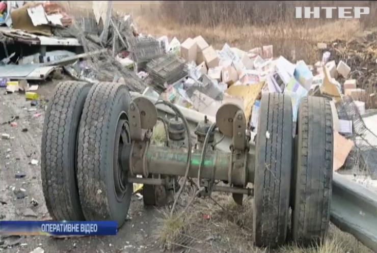 Масштабна аварія: на Одеській трасі розбилися 11 автівок