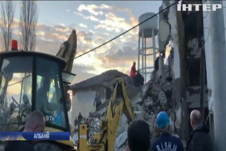 Руйнівний землетрус накоїв лиха в Албанії