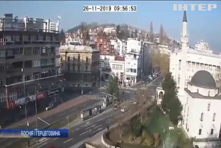 Боснію і Герцеговину сколихнув потужний землетрус (відео)
