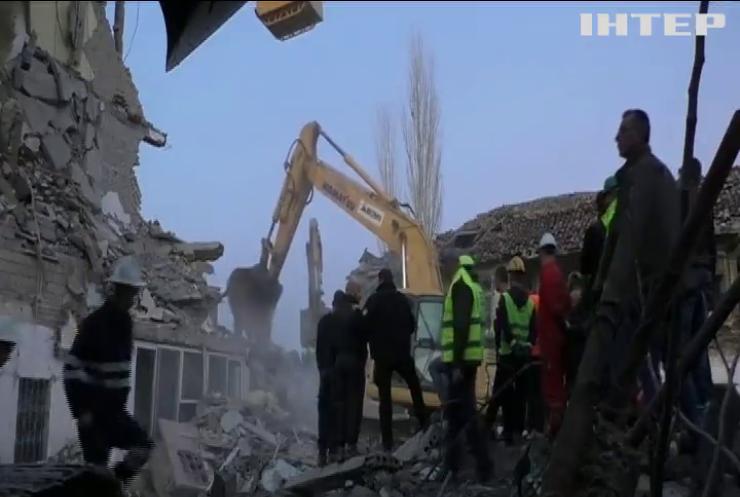 Землетрус в Албанії визнали найсильнішим за 30 років