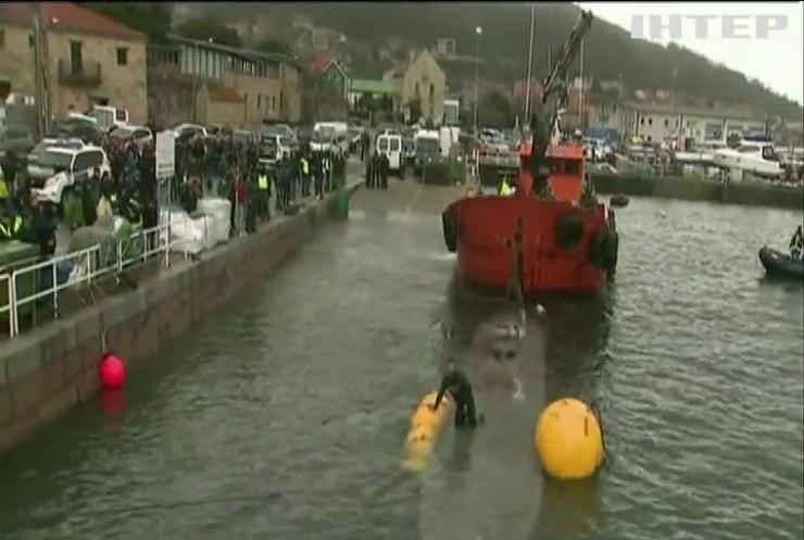 В Іспанії затримали підводний човен з трьома тоннами кокаїну