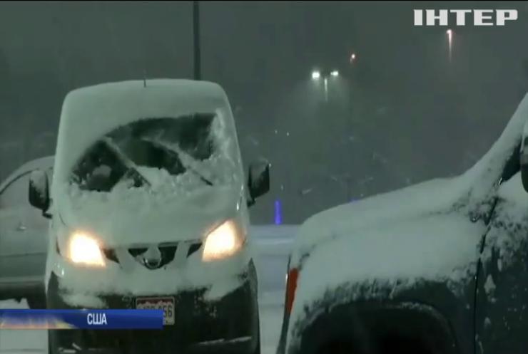 Частину США накрило сніговим штормом