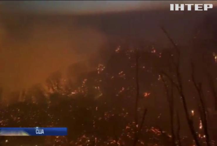 Санта-Барбарі загрожує полум'я пожежі