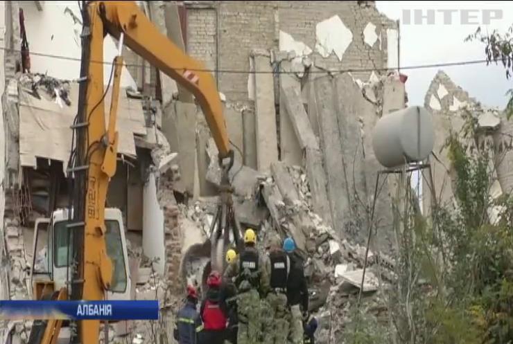 Землетрус у Албанії: кількість жертв сягнула 37 людей