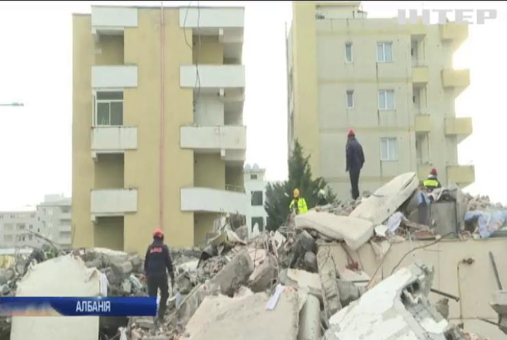 Землетрус в Албанії: кількість жертв зростає