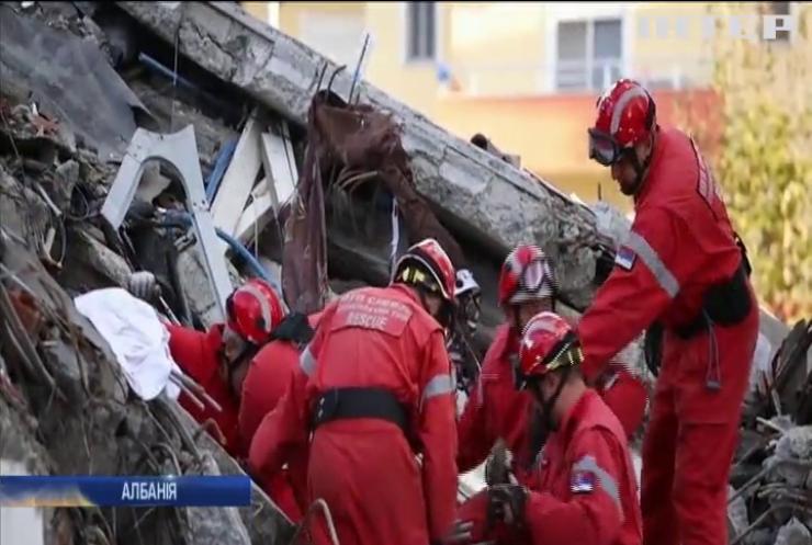 В Албанії вивчають наслідки масштабних землетрусів