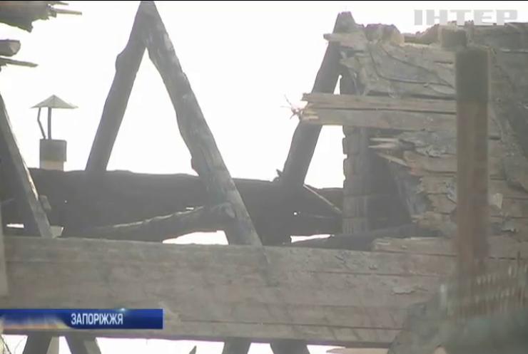 Пожежа у Запоріжжі забрала життя бабусі та дівчинки