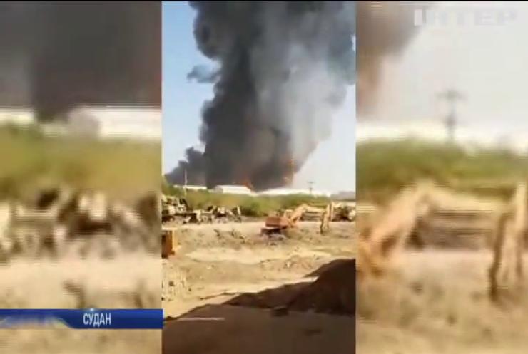 Пожежа на фабриці у Судані: загинули люди