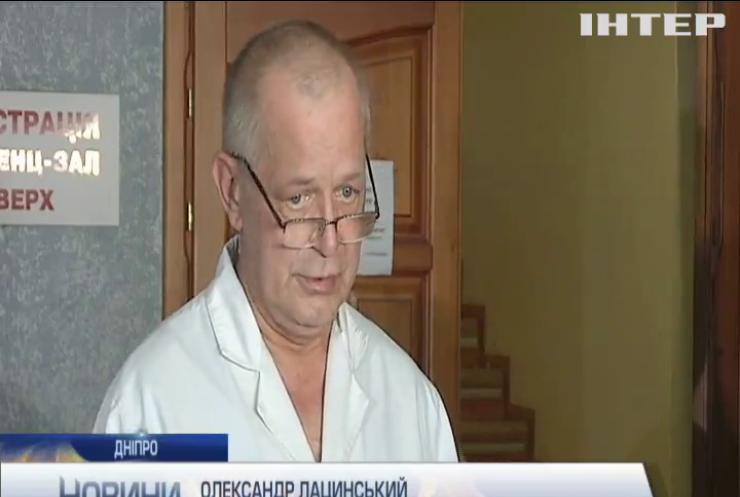 Випав з вікна: хлопчика екстрено доправили сан-авіацією до Дніпра