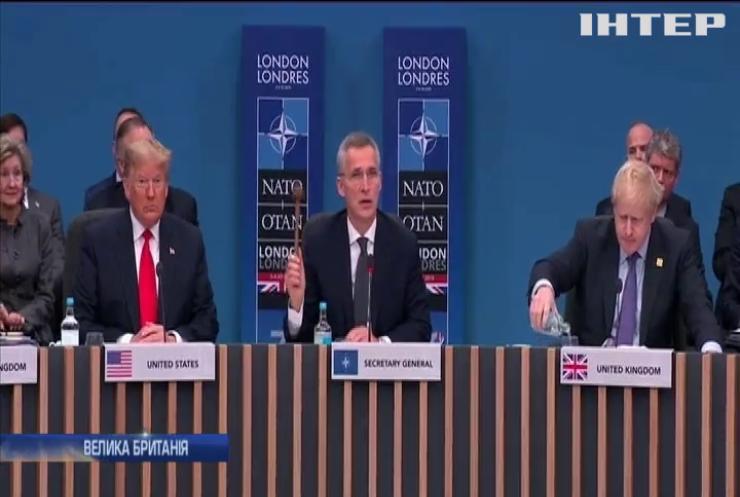 На ювілейному саміті НАТО глави держав кепкували з Дональда Трампа