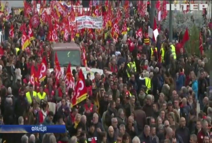 У Франції триває найбільший страйк за останні роки
