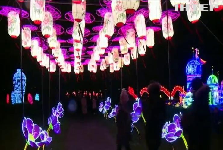 У Талліні триває фестиваль гігантських китайських ліхтариків